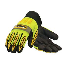 PIP Maximum Safety® Mad Max Thermo, Professional Workman's Glove, Black, XL - Pkg Qty 12