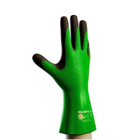 "PIP MaxiDry® CR Gloves, Blended Polymer Coating, Super Fine Gauge Seamless Knit, 12""L, M"
