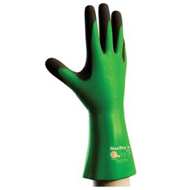 "PIP MaxiDry® CR Gloves, Blended Polymer Coating, Super Fine Gauge Seamless Knit, 14""L, XL"