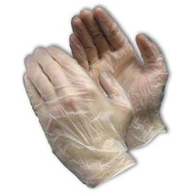 "PIP Ambi-Dex Disposable Vinyl Gloves, Regular Industrial Grade, 9.4""L, Powdered, 3... by"