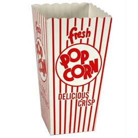 Paragon 1044 Small Popcorn Scoop Boxes 0.79 oz 100/Case by