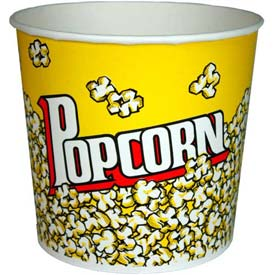Paragon 1066 Large Popcorn Buckets 85 oz 50/Case by
