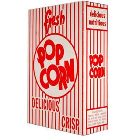 Paragon 1073 Extra Large Classic Popcorn Boxes 2.3 oz 50/Case by