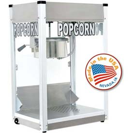 Paragon 1108710 Professional Series Popcorn Machine 8 oz Silver 120V 1420W by