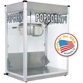 Paragon 1116710 Professional Series Popcorn Machine 16 oz Silver 120V 2790W by