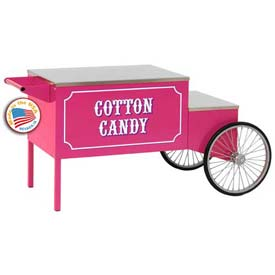 "Paragon 3060010 Cotton Candy Spoke Machine Wheel Cart, 56""W x 41-1/2""D x... by"