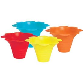Paragon 6502 Multicolor Flower Drip Tray Cups 4 Oz, 100 Qty by
