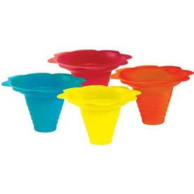 Paragon 6503 Multicolor Flower Drip Tray Cups 8 Oz, 100 Qty by