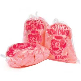 Paragon 7850 Cotton Candy Plastic Bags With Imprint - Clown, 1000 Qty