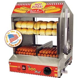 "Paragon 8020 Doghut Hot Dog Steamer And Merchandiser, 15-1/4""W x 17""D x... by"