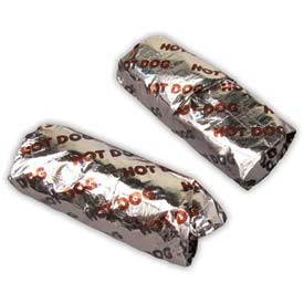 Hot Dog Foil Wrappers