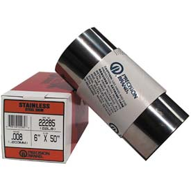 """0.004"""" Stainless Steel Shim Stock 6"""" X 50"""" Roll - Min Qty 2"""