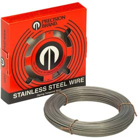 """0.037"""" Diameter Stainless Steel Wire, 1 Pound Coil"""