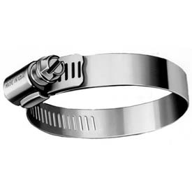 """B96HSP All 300 Series Stainless Worm Gear Hose Clamp, 4-1/2"""" - 6-1/2"""" Clamping Dia. 10-Pack"""