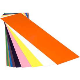 "0.004"" Plastic Color Coded Shim 10"" x 20"" Flat Sheet (Pack of 10)"