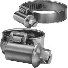Miniature Critical Connection Worm Gear Hose Clamp, 12mm - 18mm Clamping Dia. 10-Pack