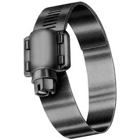 """HD20SN 9/16"""" Band, Heavy Duty 4-Piece Stainless Worm Gear Hose Clamp, 7/8"""" - 1-3/4"""" Dia. 10-Pack"""