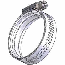 "WS64 WaveSeal 360™, 9/16"" Band, Constant Tension Hose Clamp, 2-13/16"" - 4-5/16"" Dia. 10-Pack"