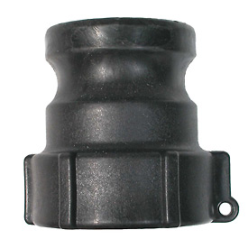 "3"" Polypropylene Camlock Fitting - Male Coupler x FPT Thread"