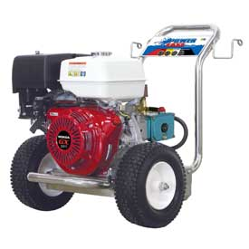 BE Pressure P4213HSJ 13HP 4000 PSI Pressure Washer W/Honda GX Engine & Cat Pump