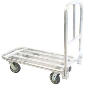 Prairie View FP18648T HD Welded Folding Aluminum Platform Truck