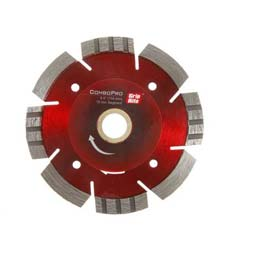 "Grip-Rite Combopro Diamond Saw Blade 4.5"" Dia. 10mm Rim Package Count 5 by"