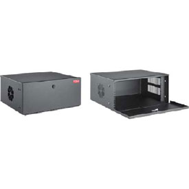 Click here to buy Hoffman DVR4U DVR Cab 9.45x21.65x18.35in, 4RU Blk, Steel/Black.