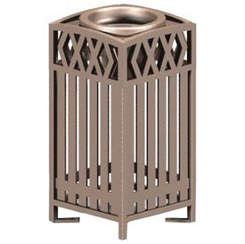 Novak Series Metal Cigarette Urn - Bronze