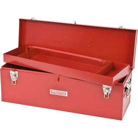 "Proto J9969-NA General Purpose Tool Box - Double Latch - 26""L X 8-1/2""D X 9-1/2""H"