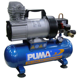 Puma PD1006, 0.75 HP, Hand Carry, 1.5 Gallon, Hot Dog, 135 PSI, 1.36 CFM, 12VDC by