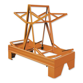 Pucel™ 85 Drum Storage Rack - Orange