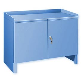"Heavy Duty Cabinet Shop Bench - 36""W x 18""D Blue"