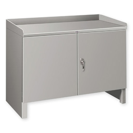 "Heavy Duty Cabinet Shop Bench - 36""W x 25""D Gray"