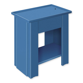 "Drain Top Repair Bench - 36""W x 20""D x 30""H Blue"