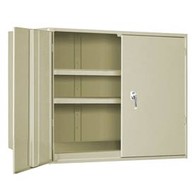 "Extra Heavy Duty Storage Cabinet - 36""W x 24""D x 48""H Putty"