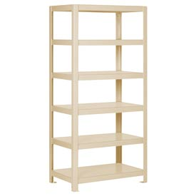 "Pucel - All Welded Steel Shelving - 30""W x 24""D Putty"