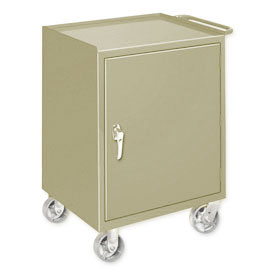 Mobile Drawer Bench - 1 Cabinet Putty