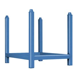 "Stacking Rack Units - 42""W x 30""D Blue"