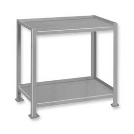 Pucel™ TU-1925-2 Shop Stand 2 Shelves with Foot Pads - 25 x 19