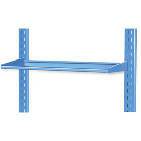 "Pucel 8"" Flat Shelf VS-32-8 for Portable Bin Cart Blue"