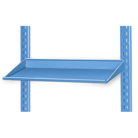 "Pucel 12"" Sloped Shelf VSS-32-12 for Portable Bin Cart Blue"