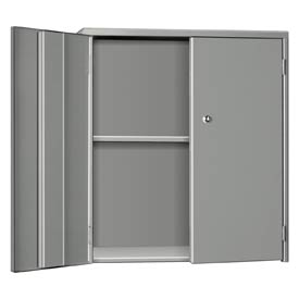 "Pucel Wall & Bench Cabinet WBC-3524 - 35-1/2""W x 9""D x  24""H, Gray"