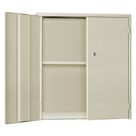 "Pucel Wall & Bench Cabinet WBC-3524 - 35-1/2""W x 9""D x  24""H, Putty"