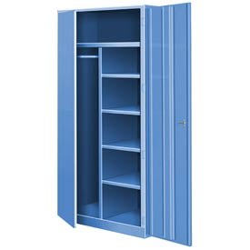 All Welded Combination Cabinet - Blue
