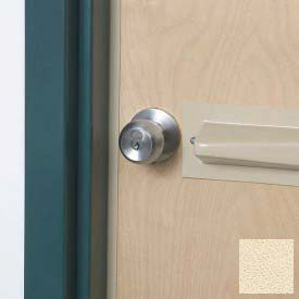 Tapered Doorknob Protector For Lever-Style Doorknobs, Ivory