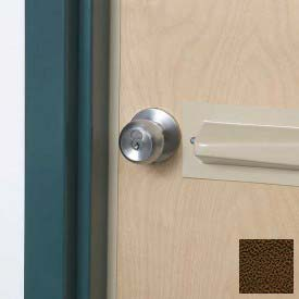 Tapered Doorknob Protector For Lever-Style Doorknobs, Brown