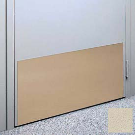 """Kick Plate Made From .040"""" PVC Sheet, Up to 48"""" x 48"""", Bone"""