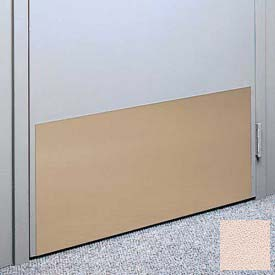 "Kick Plate Made From .040"" PVC Sheet, Up to 48"" x 48"", Ecru"