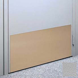 "Kick Plate Made From .040"" Pvc Sheet, 24"" X 32"", Pearl Gray - Pkg Qty 3"
