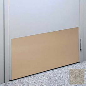 "Kick Plate Made From .040"" Pvc Sheet, 24"" X 32"", Chinchilla - Pkg Qty 3"
